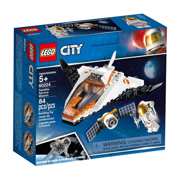LegoCity Uydu Servis Aracı 60224