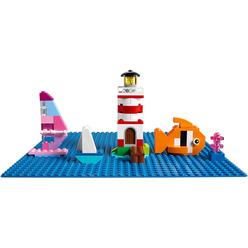 Lego Classic Blue Baseplate 10714 - Thumbnail