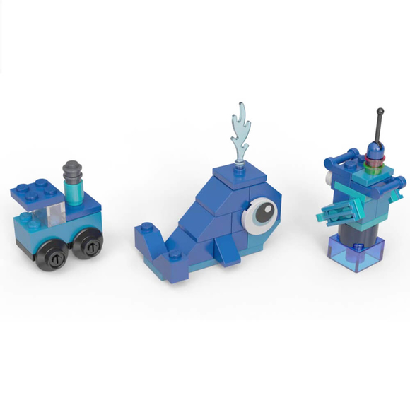 Lego Classic Blue Bricks 11006