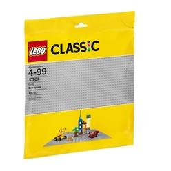 Lego Classic Gray Baseplate 10701 - Thumbnail