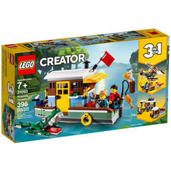 Lego Creator Riverside Houseboat 31093 - Thumbnail