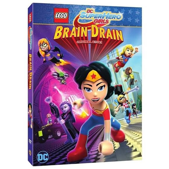 Lego Dc Super Hero Girls: Beyin Gücü - DVD