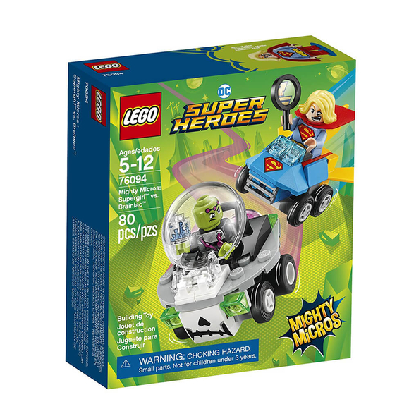 Lego DC Super Heroes Mighty Micros: Supergirl vs. Brainiac 76094