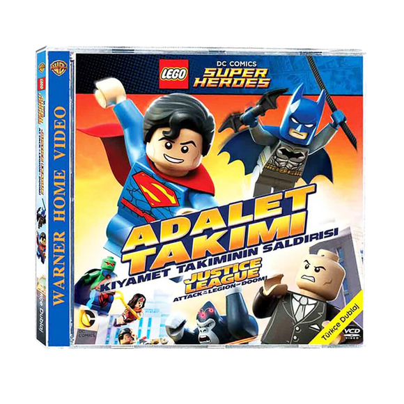 Lego Dc Süper Kahramanlar: Adalet Takımı: Kıyamet Takımının Saldırısı - VCD
