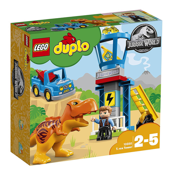 Lego Duplo T.Rex Tower 10880