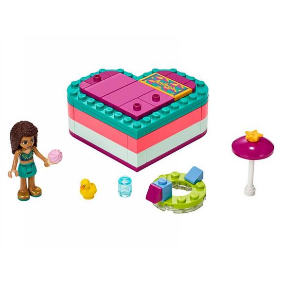 LegoFriendsAndrea'nın Yaz Kalp Kutusu 41384