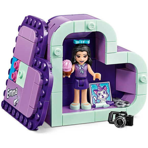 Lego Friends Emma's Heart Box 41355