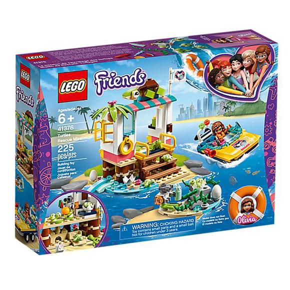 LegoFriendsKaplumbağa Kurtarma Görevi 41376