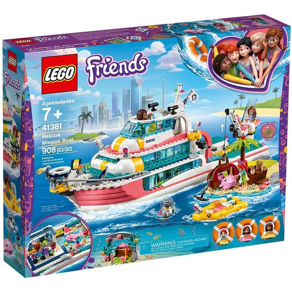 LegoFriendsKurtarma Görevi Teknesi 41381