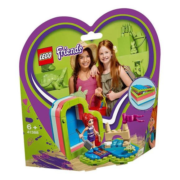 LegoFriendsMia'nın Yaz Kalp Kutusu 41388