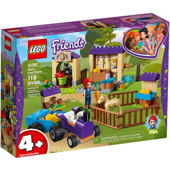 Lego Friends Mia's Foal Stable 41361 - Thumbnail