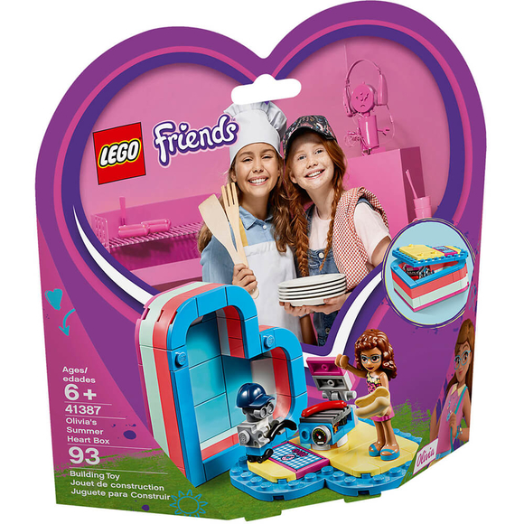 LegoFriendsOlivia'nın Yaz Kalp Kutusu 41387