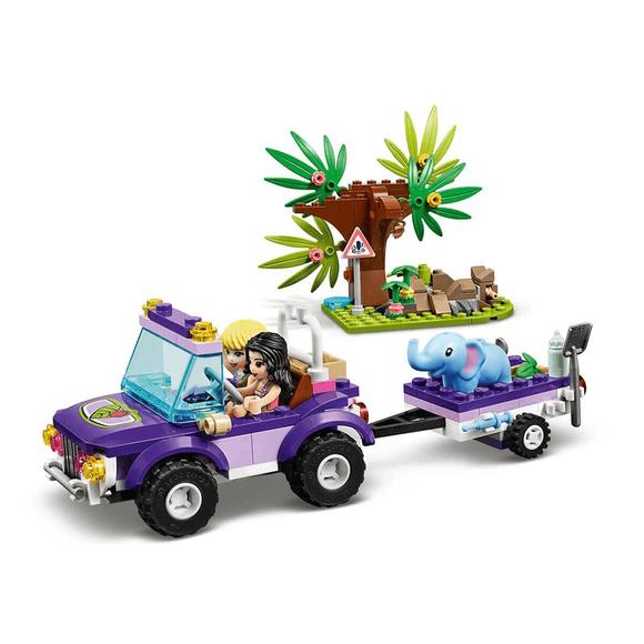 Lego Friends Yavru Fil Kurtarma Operasyonu 41421