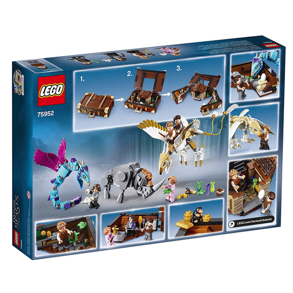 Lego Harry Potter Newts Case of Creatures 75952