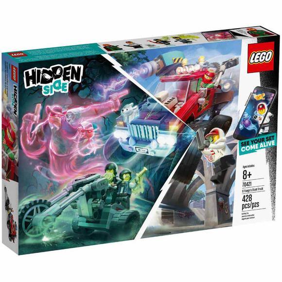 Lego Hidden Side El Fuego'nun Gösteri Kamyonu 70421