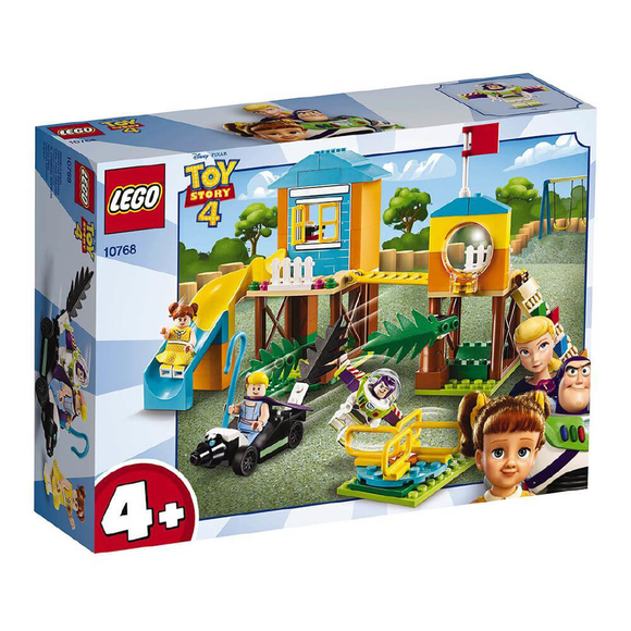 Lego Juniors Toy Story 4 Buzz & Bo Peep's Playground Adventure 10768