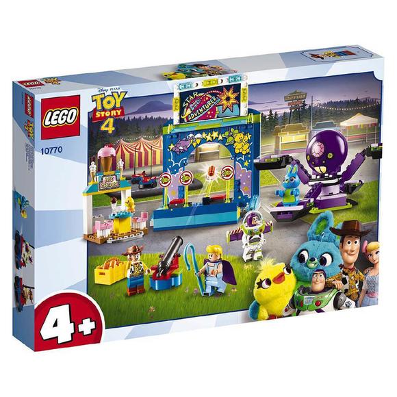 Lego Juniors Toy Story 4 Buzz & Woody's Carnival Mania 10770