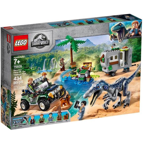 LegoJurassic World Baryonyx Karşılaşması: Hazine Avı 75935