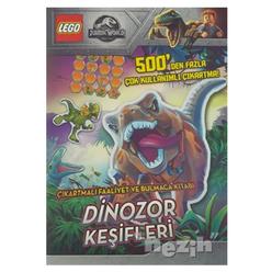 Lego Jurassic World Çıkartmalı Faaliyet ve Bulmaca Kitabı - Dinozor Keşifleri - Thumbnail