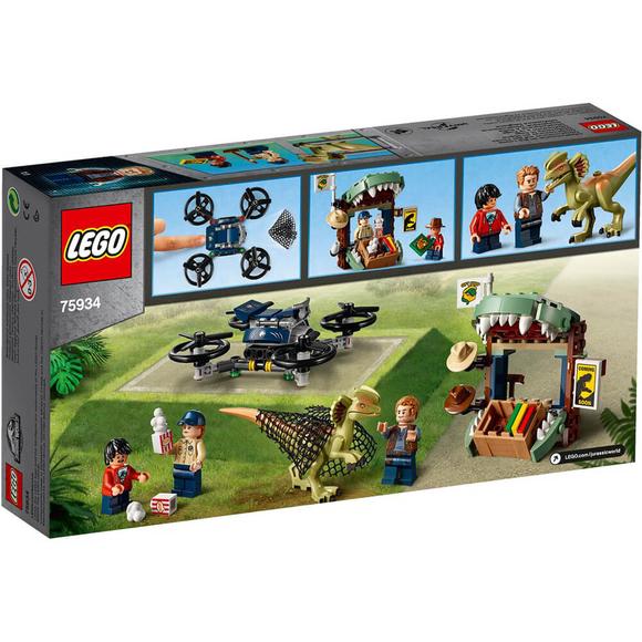 LegoJurassic World Dilophosaurus Kaçıyor 75934
