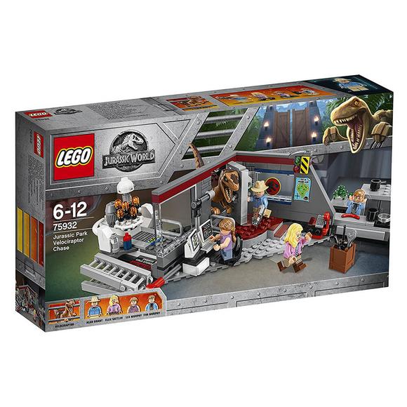 Lego Jurassic World Jurassic Park Velociraptor 75932