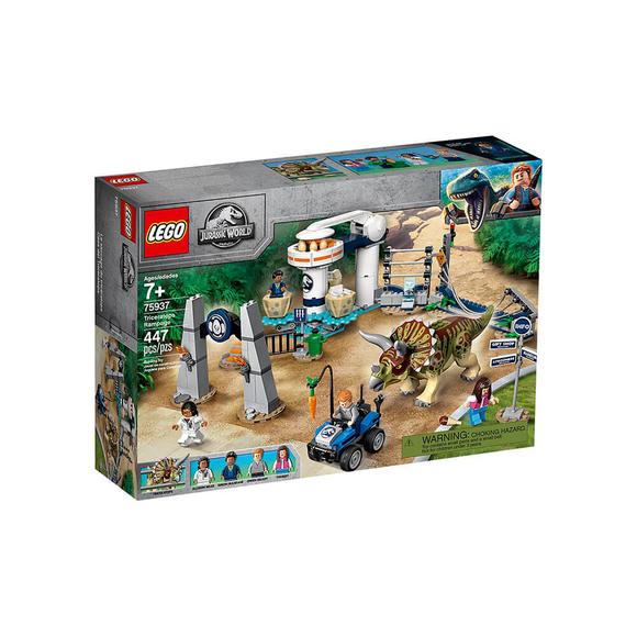 LegoJurassic World Triceratops Saldırısı 75937