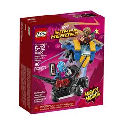 Lego Marvel Super Heroes Mighty Micros: Star-Lord vs. Nebula 76090 - Thumbnail