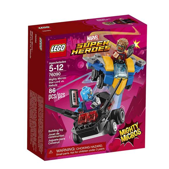 Lego Marvel Super Heroes Mighty Micros: Star-Lord vs. Nebula 76090
