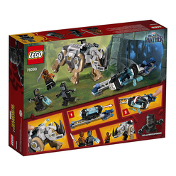 Lego Marvel Super Heroes Rhino Face-Off by the Mine 76099 - Thumbnail