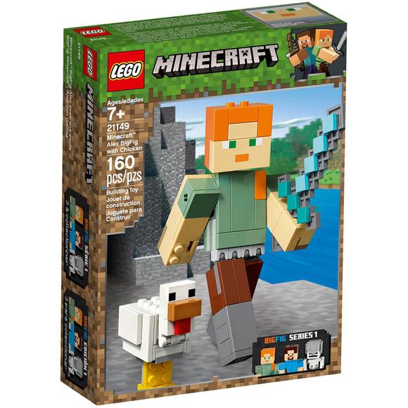 Lego Minecraft Alex W Chicken 21149