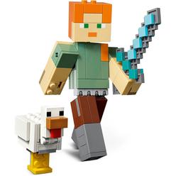 Lego Minecraft Alex W Chicken 21149 - Thumbnail