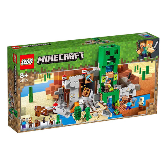 Lego Minecraft Creeper Madeni 21155
