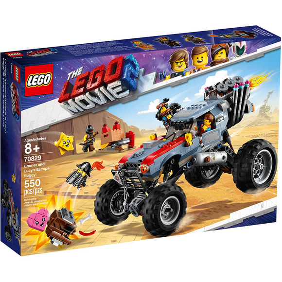 Lego Movie 2 Emmet and Lucy's Escape Buggy 70829
