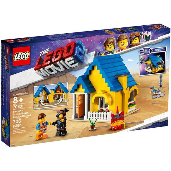 Lego Movie 2 Emmet's Dream House / Recue Rocket 70831