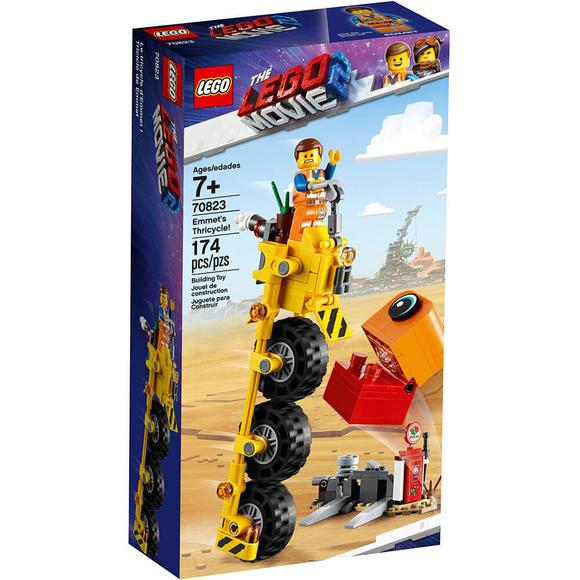 Lego Movie 2 Emmet's Thricycle 70823
