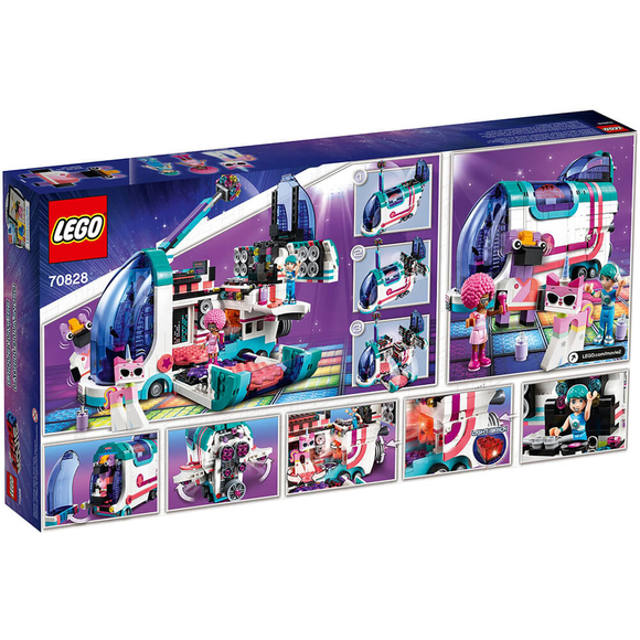 Lego Movie 2 Pop-Up Party Bus 70828