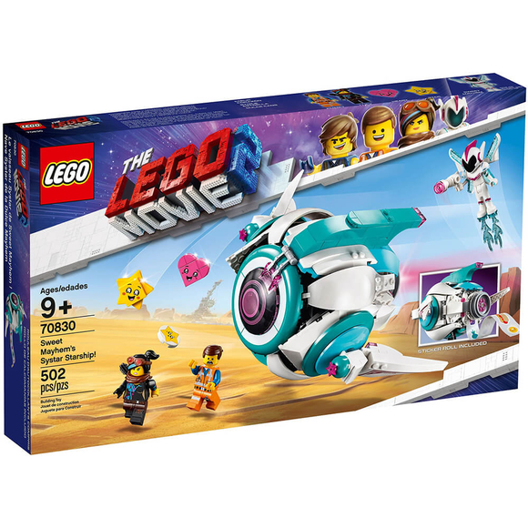 Lego Movie 2 Sweet Mayhem's Systar Starship 70830