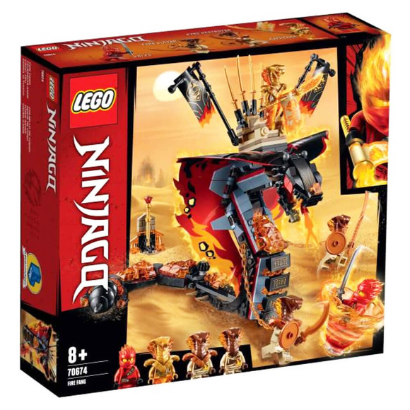 Lego NinjagoAteş Diş 70674