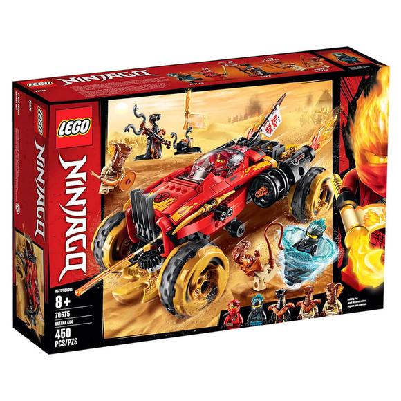 Lego NinjagoKatana 4x4 70675