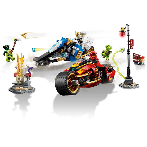 Lego Ninjago Legacy Kai's Blade Cycle & Zane's Snowmobile 70667