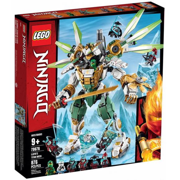 Lego NinjagoLloyd'un Titan Robotu 70676