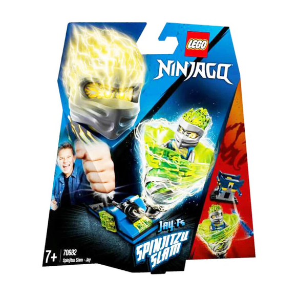 Lego NinjagoSpinjitzu Çarpışması Jay 70682