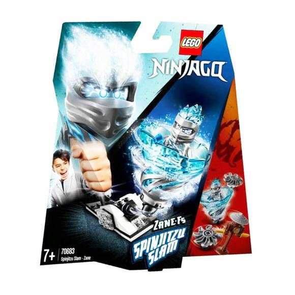 Lego NinjagoSpinjitzu Çarpışması Zane 70683
