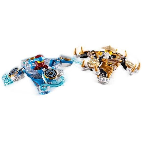 Lego Ninjago Spinjitzu Nya & Wu 70663