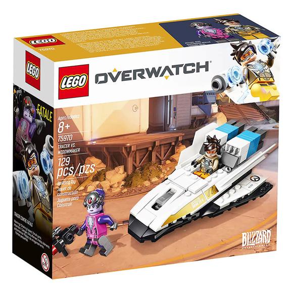 Lego Overwatch Tracer vs. Widowmaker V29 75970
