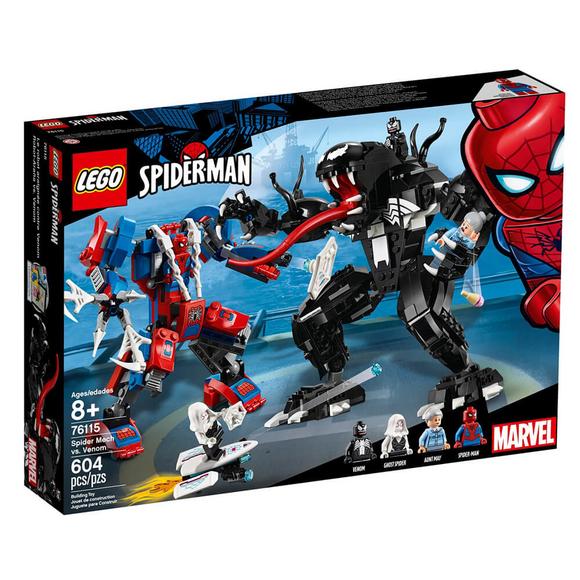 Lego Süper Hero Spider Mech Vs Venom 76115