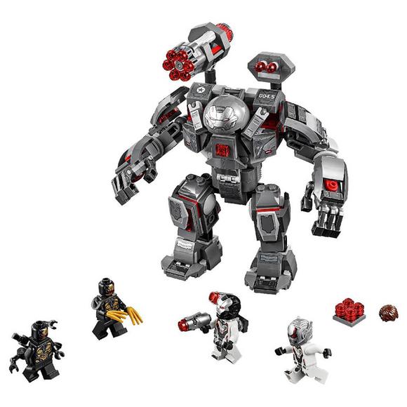 Lego Super Heroes War Machine Buster 76124