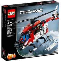 Lego Technic Rescue Helicopter 42092 - Thumbnail