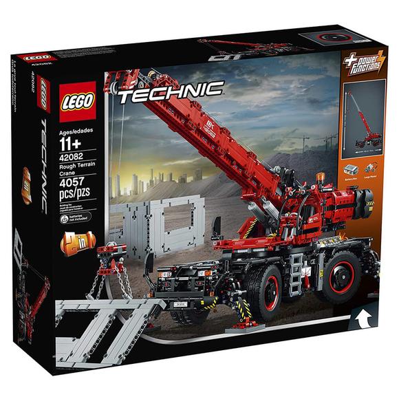 Lego Technic Rough Terrain Crane 42082
