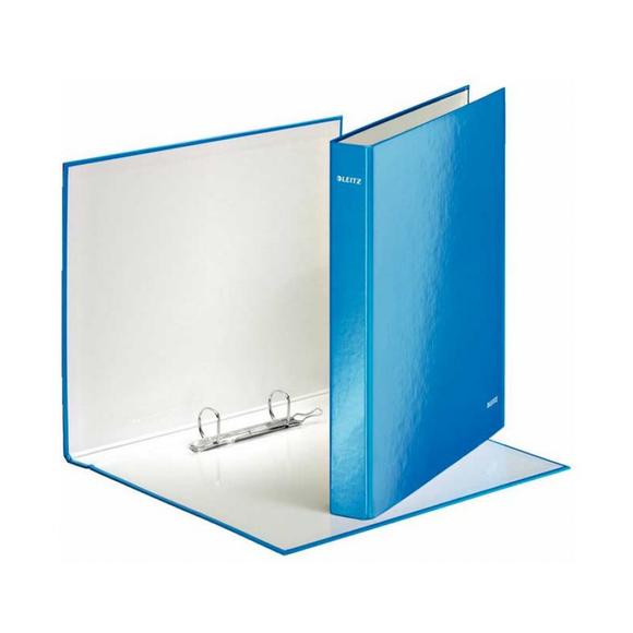Leitz 2 Halkalı Klasör WOW Metalik Mavi 4241-36